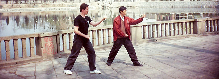 Sifu Clear Beijing wit a Student of Li Gui Chang